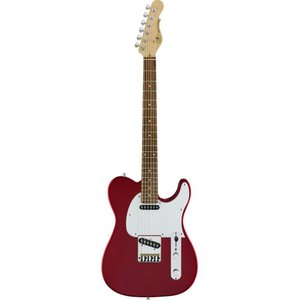 G&L Tribute ASAT Classic Elektrische gitaar Candy Apple Red