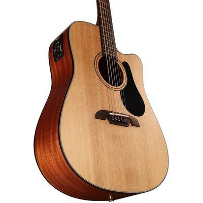 Alvarez AD30CE Dreadnought Cutaway Akoestische gitaar Natural