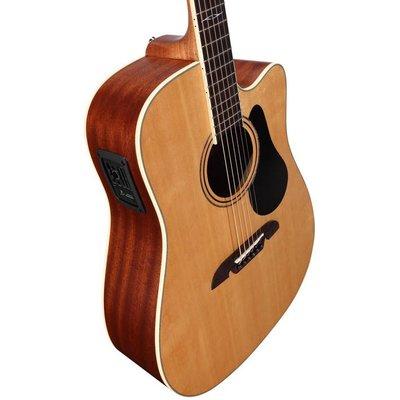 Alvarez AD60CE Dreadnought Cutaway Akoestische gitaar Natural