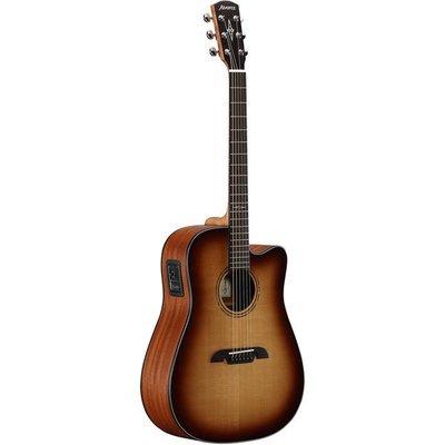 Alvarez AD60CESHB Dreadnought Cutaway Akoestische gitaar Shadowburst