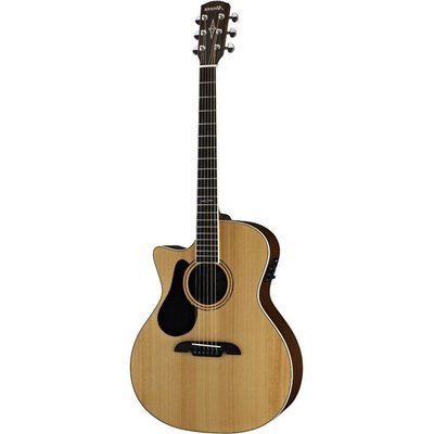 Alvarez AG60LCE Grand Auditoriume Cutaway Akoestisch gitaar Left Natural