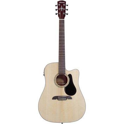 Alvarez RD26CE Dreadnought Cutaway Akoestische gitaar Natural +Bag