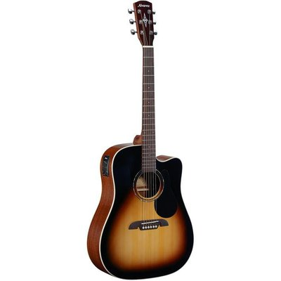 Alvarez RD26CESB Dreadnought Cutaway Akoestische gitaar Sunburst +Bag