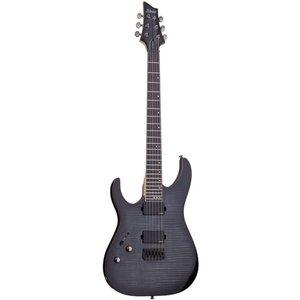 Schecter Banshee-6 Active Elektrische gitaar Left Trans Black Burst