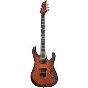 Schecter Banshee-6 Passive Elektrische gitaar Faded Vintage Sunburst