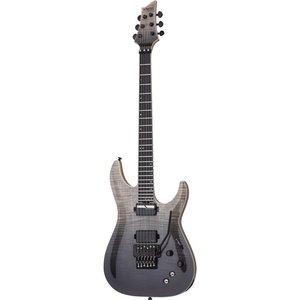Schecter C-1 FR-S SLS Elite Elektrische gitaar Black Fade Burst