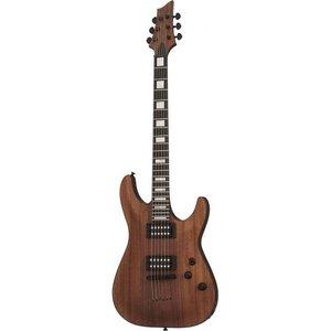 Schecter C-1 Koa Elektrische gitaar Natural Satin