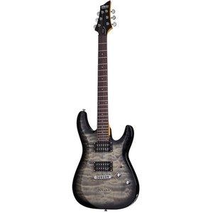 Schecter C-6 Plus Elektrische gitaar Charcoal Burst