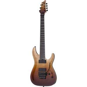 Schecter C-7 FR SLS Elite Elektrische gitaar Antique Fade Burst