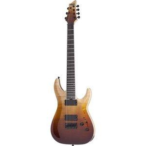 Schecter C-7 SLS Elite Elektrische gitaar Antique Fade Burst