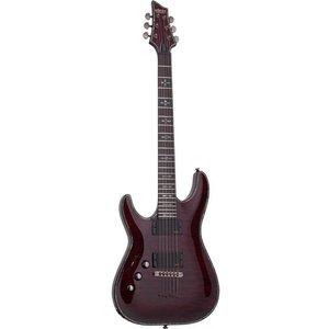 Schecter Hellraiser C-1 LH Elektrische gitaar Left Black Cherry