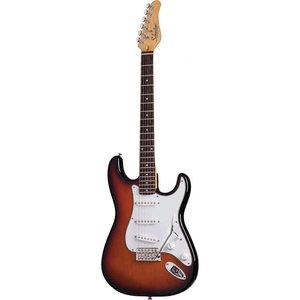 Schecter Traditional Standard Elektrische gitaar 3-Tone Sunburst