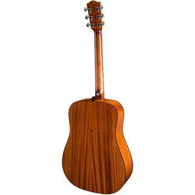 Eastman AC DR-2 Akoestische gitaar Dreadnought Open Pore Natural +Gigbag