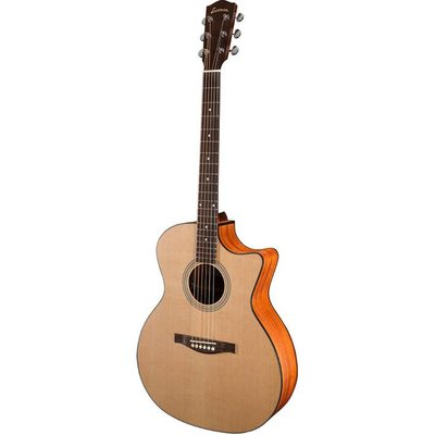 Eastman AC122CE Akoestische gitaar Grand Auditorium Natural Satin +Gigbag
