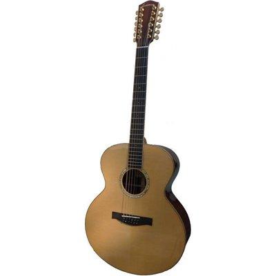 Eastman AC830-12 12-Snarige gitaar Jumbo Natural +Case