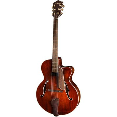 Eastman AR605CE Jim Fisch Hollowbody gitaar Classic +Case