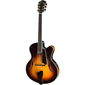 Eastman AR810CE Hollowbody gitaar Sunburst