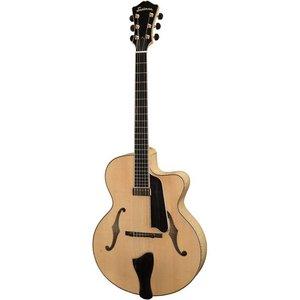 Eastman AR905CE Hollowbody gitaar Blonde