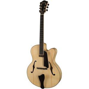 Eastman AR910CE Hollowbody gitaar Blonde