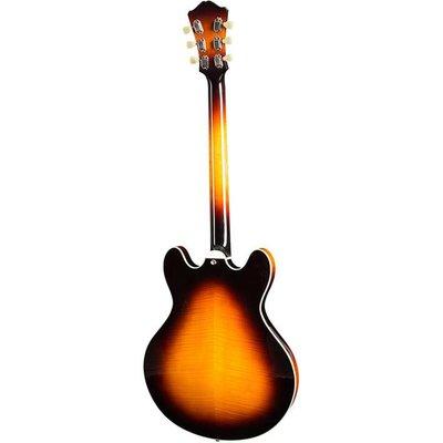 Eastman T486 Hollowbody gitaar Sunburst +Case