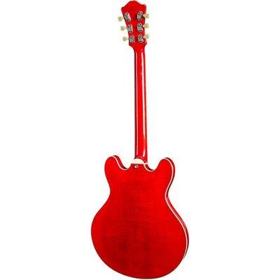 Eastman T486B Hollowbody gitaar Red +Case