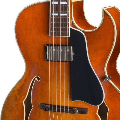 Eastman T49/v Hollowbody gitaar Amber