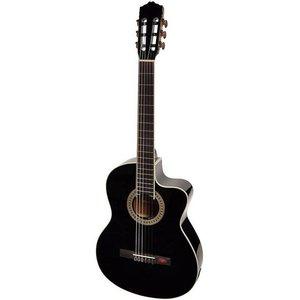 Salvador Cortez CC10CEBK Klassieke gitaar Black