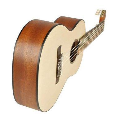 Salvador Cortez TC460 Traveler Klassieke gitaar Satin +Bag