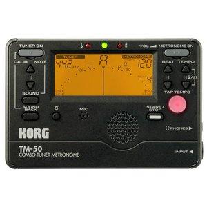 Korg TM50BK Combo Tuner Metronome Black
