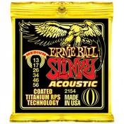 Ernie Ball 2154 Akoestische gitaarsnaren Titanium Coated Medium