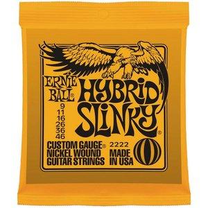 Ernie Ball 2222 Snaren Nickel Wound Hybrid Slinky