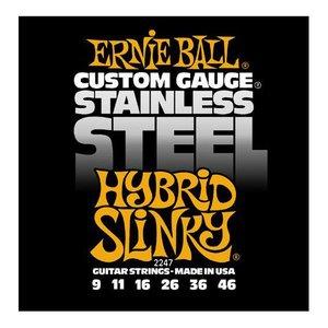 Ernie Ball 2247 Snaren Stainless Steel Hybrid Slinky