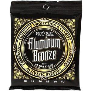 Ernie Ball 2570 Snaren Aluminium Bronze Extra Light
