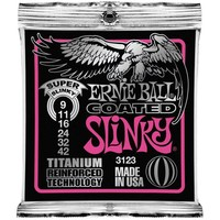 Ernie Ball 3123 Snaren Titanium Coated Super Slinky