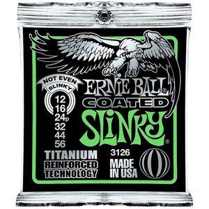 Ernie Ball 3126 Snaren Titanium Coated Not Even Slinky