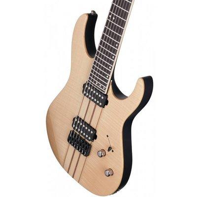 Schecter Banshee Elite-7 Elektrische gitaar Gloss Natural