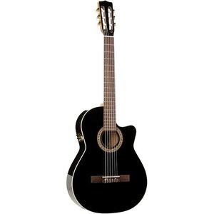 La Patrie Hybrid CW Quantum II Klassieke gitaar Black