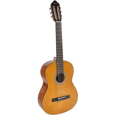 Valencia VC204 Klassieke gitaar Natural Satin