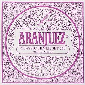 Aranjuez 300 Nylon gitaarsnaren Classic Silver