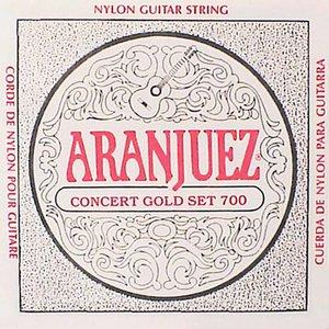 Aranjuez 700 Nylon gitaarsnaren Concert Gold