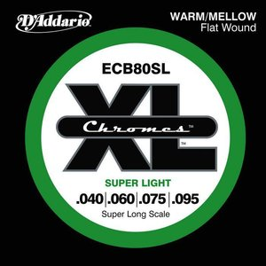 D'Addario ECB80SL Snaren Chromes Super Light
