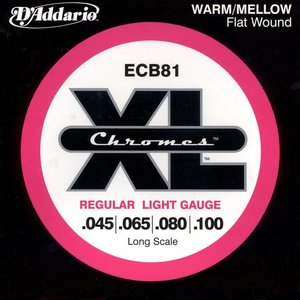 D'Addario ECB81 Snaren Chromes Regular Light