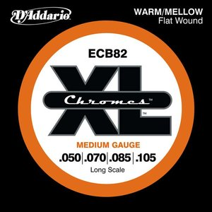 D'Addario ECB82 Snaren Chromes Medium
