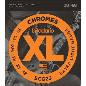 D'Addario ECG23 Snaren Chromes Extra Light