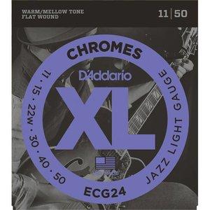 D'Addario ECG24 Snaren Chromes Jazz Light
