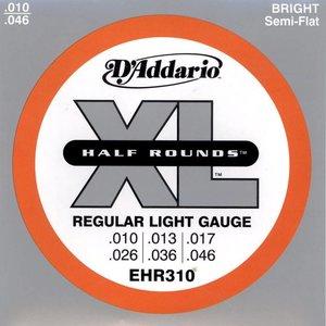 D'Addario EHR310 Snaren Half Rounds Light