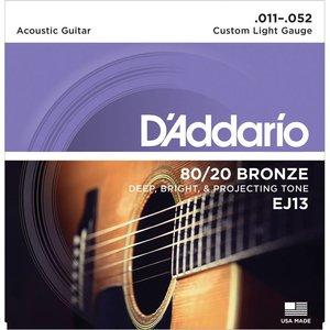 D'Addario EJ13 Snaren 80/20 Bronze Custom Light