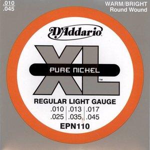 D'Addario EPN110 Snaren Pure Nickel Regular Light