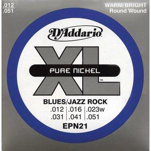 D'Addario EPN21 Snaren Pure Nickel Jazz Light