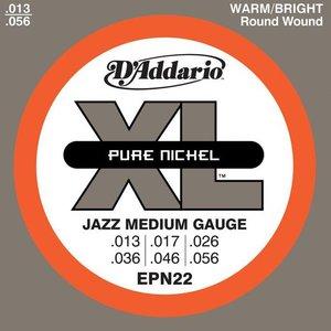 D'Addario EPN22 Snaren Pure Nickel Jazz Medium